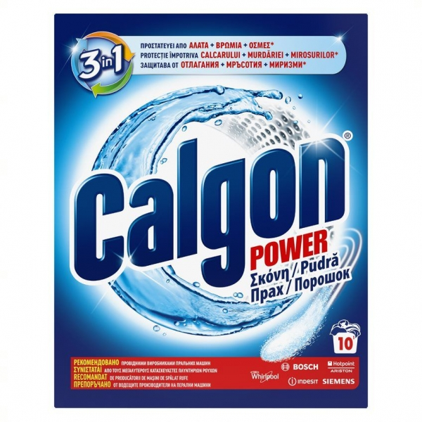 Calgon Pudra anticalcar, 500 g, 3in1 Protect and Clean [0]