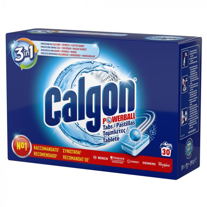 Calgon Tablete anticalcar, 30 buc, 3in1 Powerball [0]