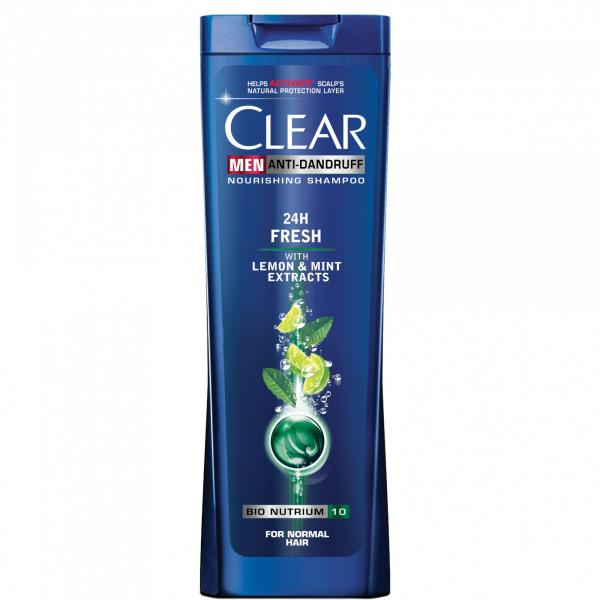 Clear Sampon, Barbati, 400 ml, 24h Fresh [0]