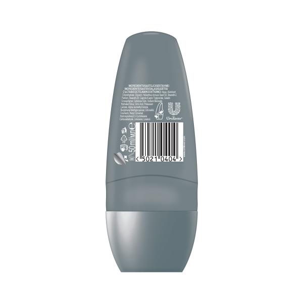 Dove Deodorant Roll-on, Barbati, 50 ml, Clean Comfort [1]