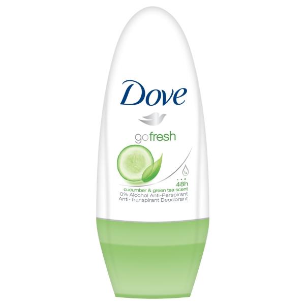 Dove Deodorant Roll-on, Femei, 50 ml, Cucumber and Green Tea [0]