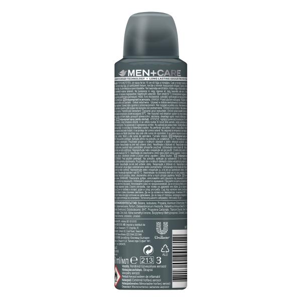 Dove Deodorant spray, Barbati, 150 ml, Men Care Silver Control [1]