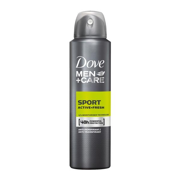 Dove Deodorant spray, Barbati, 150 ml, Men+Care Sport Active Fresh [0]