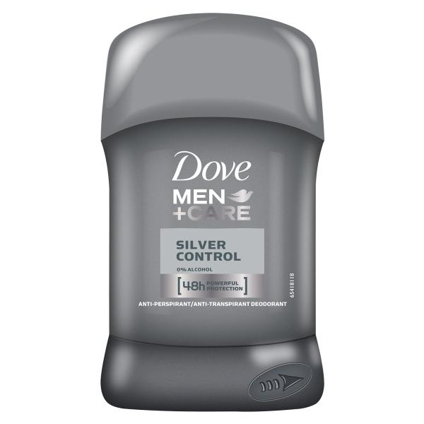 Dove Deodorant stick, Barbati, 50 ml, Men Care Silver Control [0]