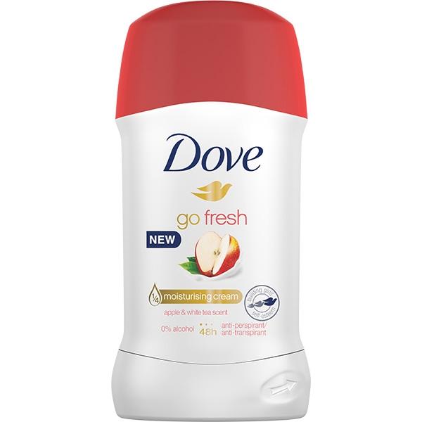 Dove Deodorant stick, Femei, 40 ml, Go Fresh Apple and White Tea [0]