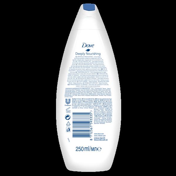 Dove Gel de dus, 250 ml, Deeply Nourishing [1]