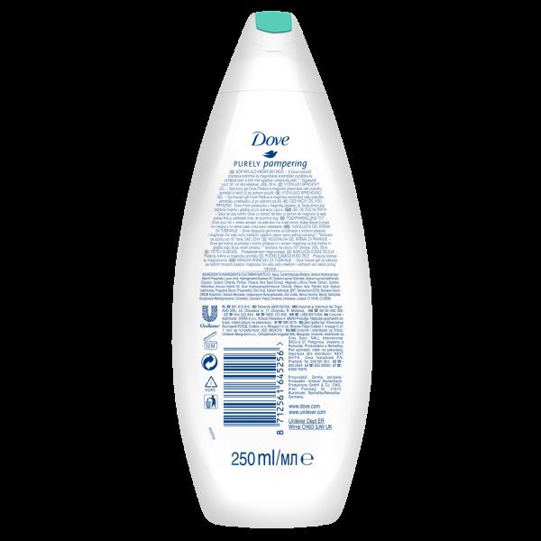 Dove Gel de dus, 250 ml, Purely Pampering Pistachio Cream with Magnolia [1]