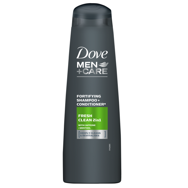 Dove Sampon, Barbati, 250 ml, Men+Care, Fresh Clean [0]