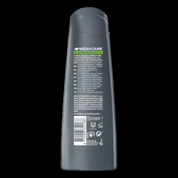 Dove Sampon, Barbati, 250 ml, Men+Care, Fresh Clean [1]