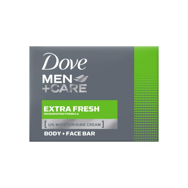 Dove Sapun crema pentru barbati, 90 g, Men+Care, Extra Fresh [0]