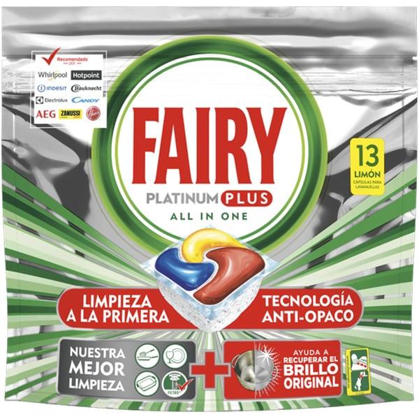 Fairy Detergent pentru masina de spalat vase, 13 capsule, Platinium Plus [0]