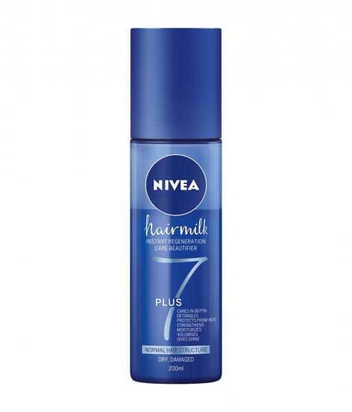 Nivea Balsam de par, Spray, pentru fir normal, 200 ml, Hairmilk [0]