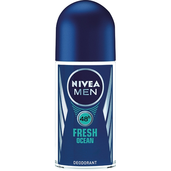 Nivea Deodorant Roll-on, Barbati, 50 ml, Fresh Ocean [0]