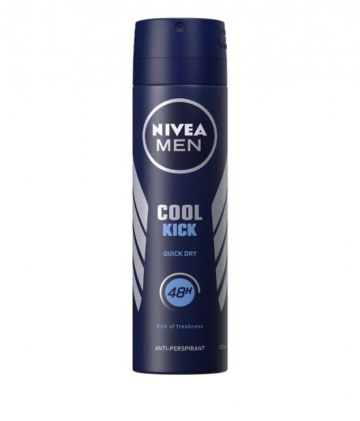 Nivea Deodorant spray, Barbati, 150 ml, Cool Kick [0]