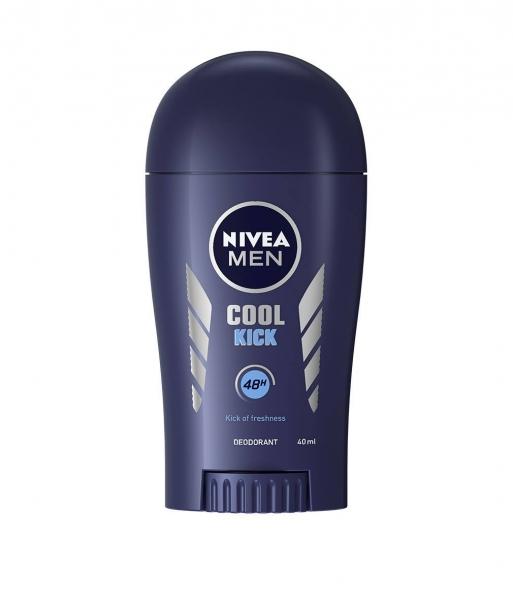 Nivea Deodorant stick, Barbati, 40 ml, Cool Kick [0]