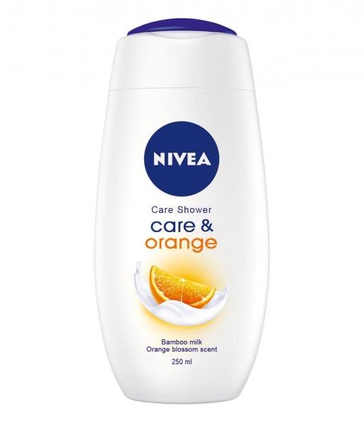 Nivea Gel de dus, 250 ml, Care and Orange [0]