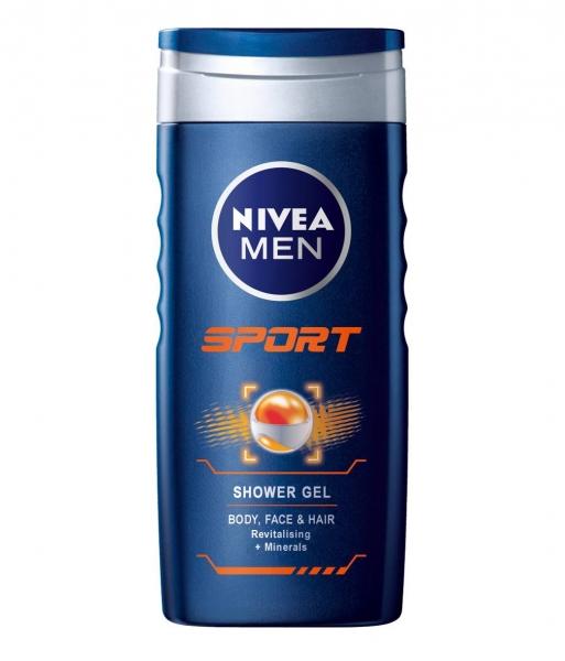 Nivea Gel de dus, Barbati, 250 ml, Sport [0]