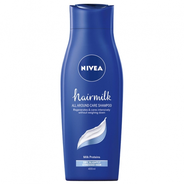 Nivea Sampon, 400 ml, Hairmilk pentru fir normal [0]
