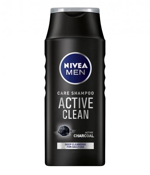 Nivea Sampon, Barbati, 400 ml, Active Clean [0]