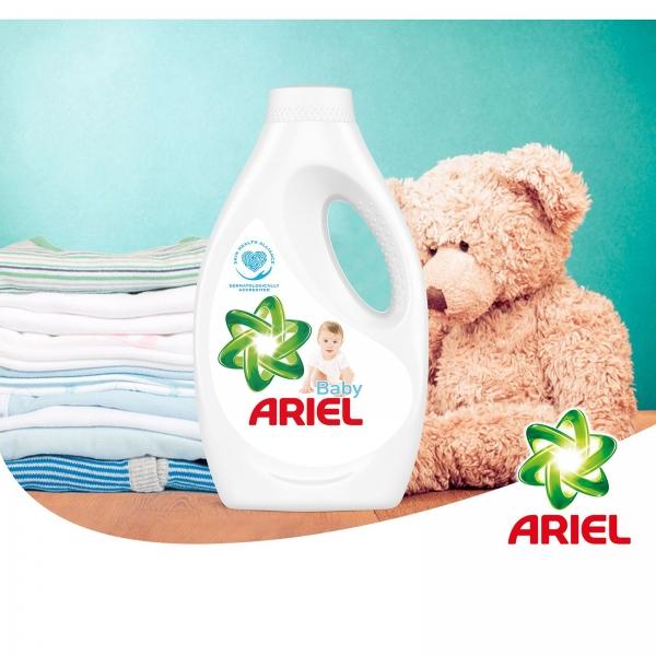 Pachet promo 4 x Ariel Detergent lichid, 2.2L, 40 spalari, Baby [1]