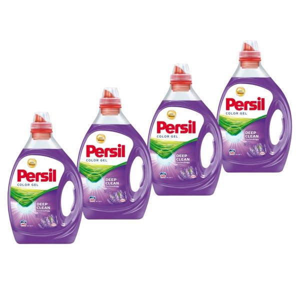 Pachet promo 4 x Persil Detergent lichid, 2L, 40 spalari, Color Gel Lavender [0]