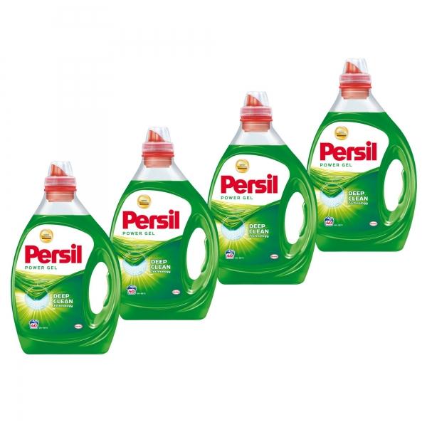 Pachet promo 4 x Persil Detergent lichid, 2L, 40 spalari, Power Gel [0]