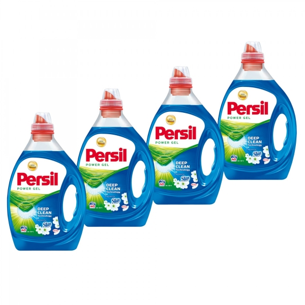 Pachet promo 4 x Persil Detergent lichid, 2L, 40 spalari, Power Gel Freshness by Silan [0]