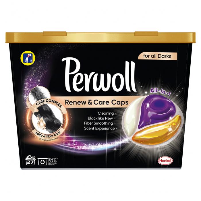 Perwoll Detergent capsule, Renew & Care Caps, 27 buc, Black [0]