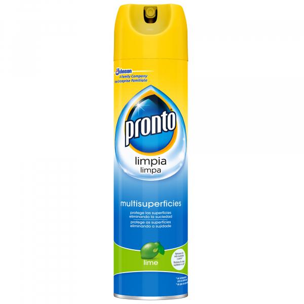Pronto Spray pentru lustruit mobila, 400 ml, Multi suprafete, Lime [0]