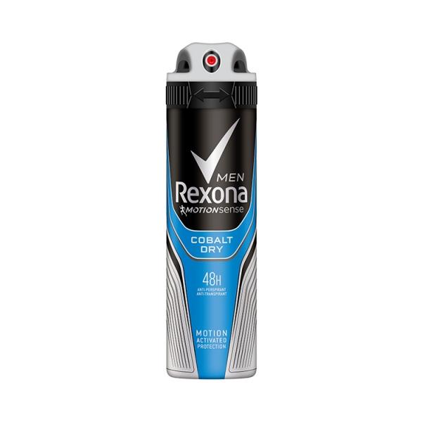 Rexona Deodorant spray, Barbati, 150 ml, Cobalt Dry [0]