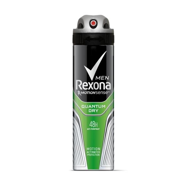 Rexona Deodorant spray, Barbati, 150 ml, Quantum Dry [0]