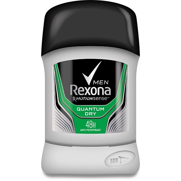 Rexona Deodorant stick, Barbati, 50 ml, Quantum Dry [0]