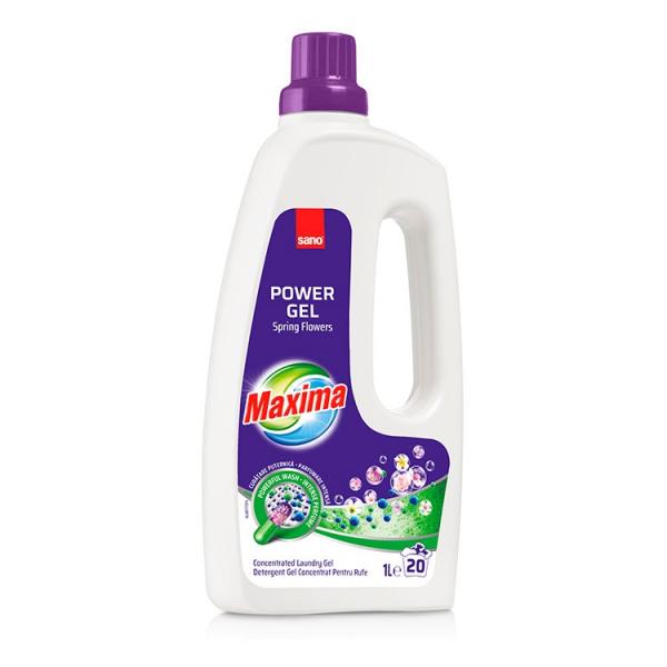 Sano Detergent lichid, 1 L, 10 spalari, Maxima Spring Flowers [0]