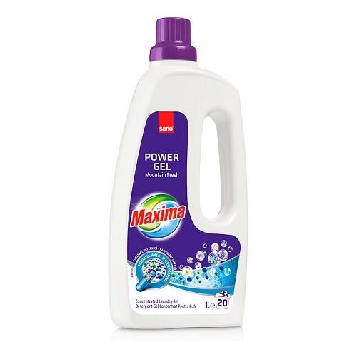 Sano Detergent lichid, 1 L, 20 spalari, Maxima Mountain Fresh [0]