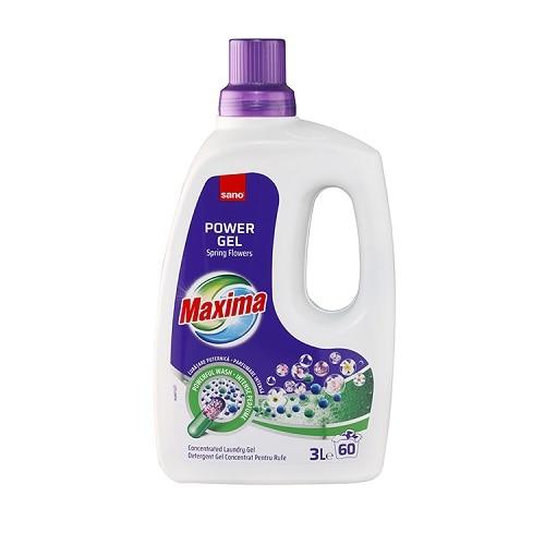 Sano Detergent lichid, 3 L, 60 spalari, Maxima Spring Flowers [0]