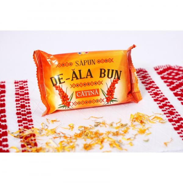 Sapun De-ala Bun, 90 g, cu extract de Catina [1]