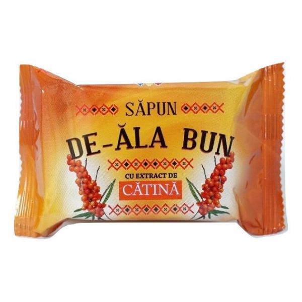 Sapun De-ala Bun, 90 g, cu extract de Catina [0]