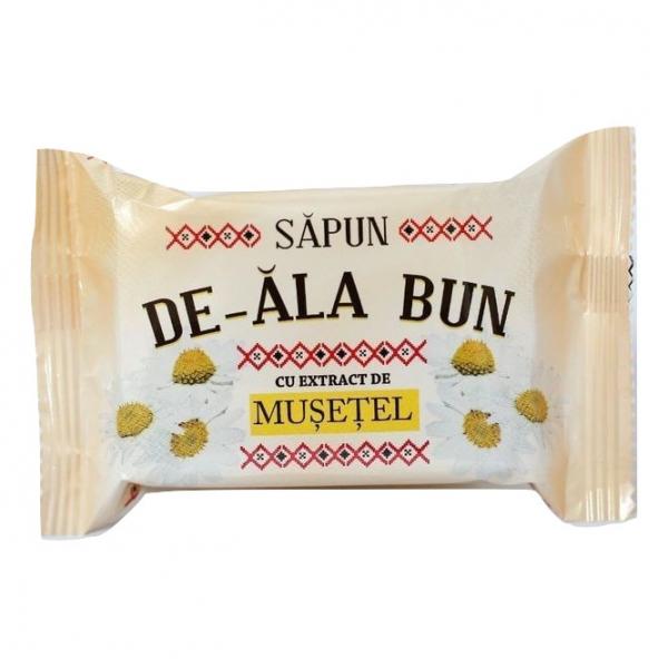 Sapun De-ala Bun, 90 g, cu extract de Musetel [0]