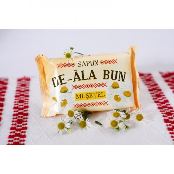 Sapun De-ala Bun, 90 g, cu extract de Musetel [1]