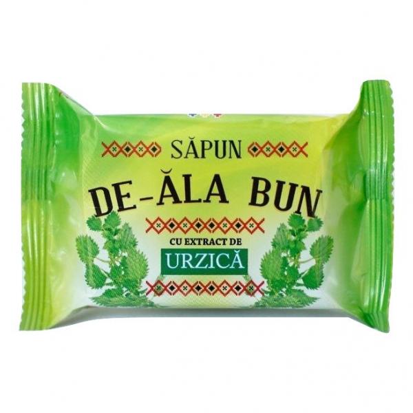 Sapun De-ala Bun, 90 g, cu extract de Urzica [0]
