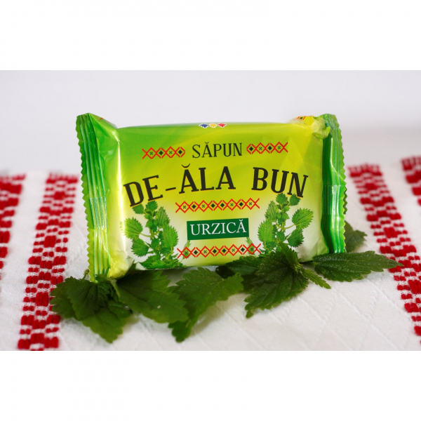 Sapun De-ala Bun, 90 g, cu extract de Urzica [1]