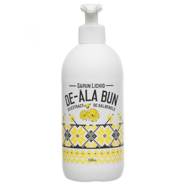 Sapun De-ala Bun cu extract de galbenele, lichid, 500 ml [0]