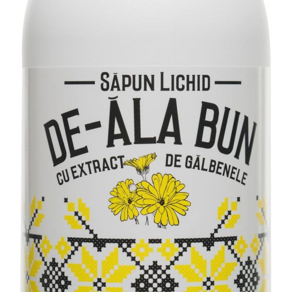 Sapun De-ala Bun cu extract de galbenele, lichid, 500 ml [1]