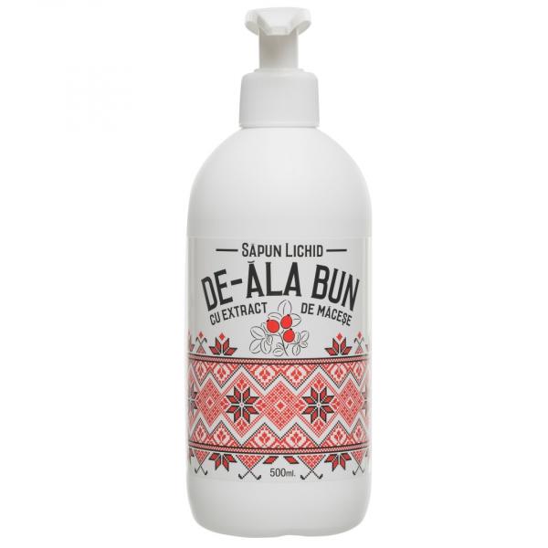 Sapun De-ala Bun cu extract de macese, lichid, 500 ml [0]