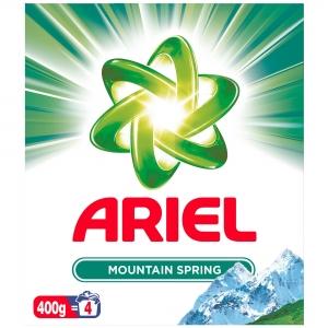 Ariel Detergent automat, 400 g, 4 spalari, Mountain Spring [0]
