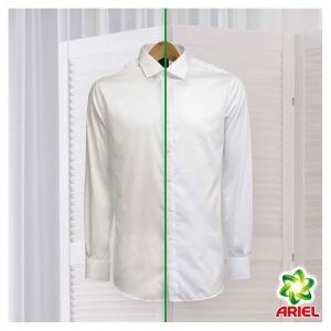 Ariel Detergent automat, 10 kg, 100 spalari, Whites & Colors [1]