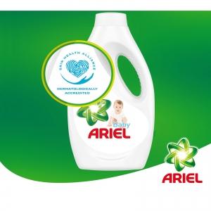 Ariel Detergent lichid, 1.1L, 20 spalari, Baby [2]