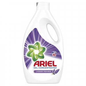 Ariel Detergent lichid, 2.2L, 40 spalari, Lavanda [0]