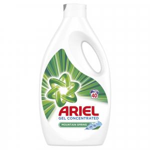 Ariel Detergent lichid, 2.2L, 40 spalari, Mountain Spring [0]