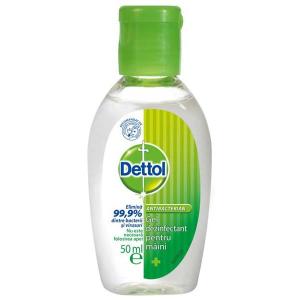 Dettol Dezinfectant pentru maini, gel, 50 ml [0]